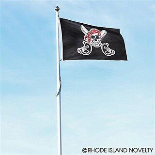 Rhode Island Novelty 3Feet x 5Feet Pirate Flag Pretend Play Toy Products
