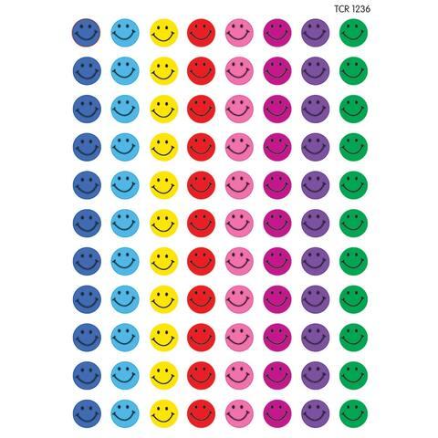 Mini Stickers Happy Faces 528Pk