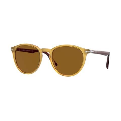 Persol PO3152S 113233 49 Yellow Man Phantos Sunglasses