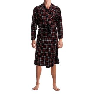 Jockey Mens Micro Plush Classic Fit Long Robe - o/s