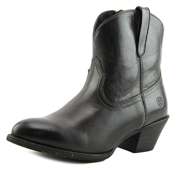 Ariat Darla Women Pointed Toe Leather Black Western Boot
