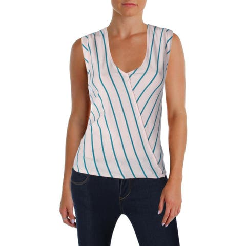 We The Free Womens Memphis Tank Top Striped V-Neck