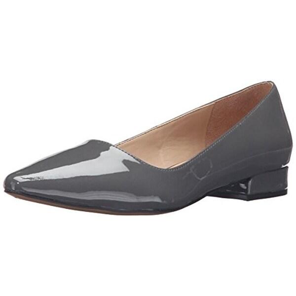 Franco Sarto Womens Saletha Flats Patent Pointed Toe