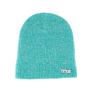 Neff Daily Teal/White Heather Knit Hat