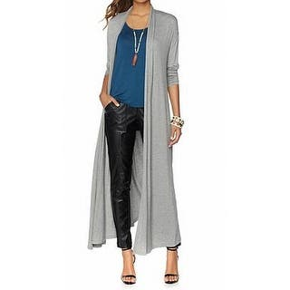 Nene Leakes NEW Gray Womens Size Small S Maxi Heather Cardigan Sweater|https://ak1.ostkcdn.com/images/products/is/images/direct/5abba0c87e52837e8f3b79bbe1f76f935b77fde7/Nene-Leakes-NEW-Gray-Womens-Size-Small-S-Maxi-Heather-Cardigan-Sweater.jpg?impolicy=medium