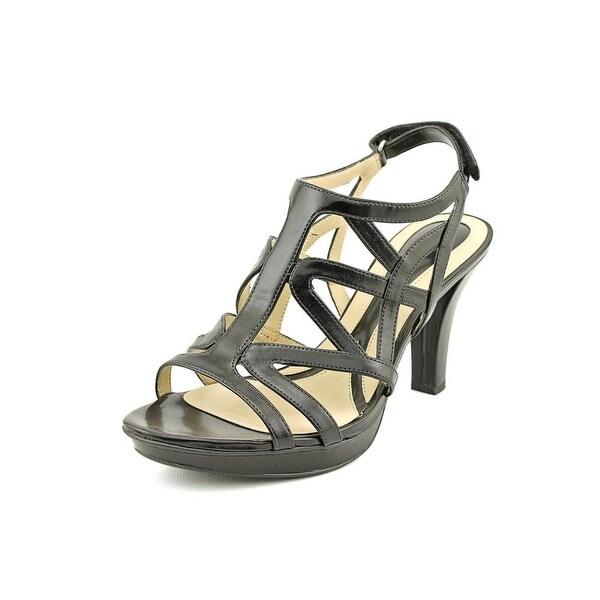 Naturalizer Danya Women  Open Toe Synthetic Black Sandals