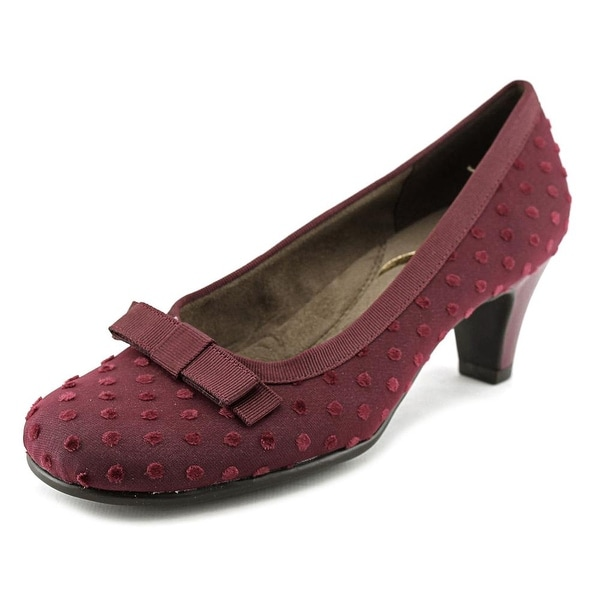 Aerosoles Playhouse Women Wine Mini Polka Pumps