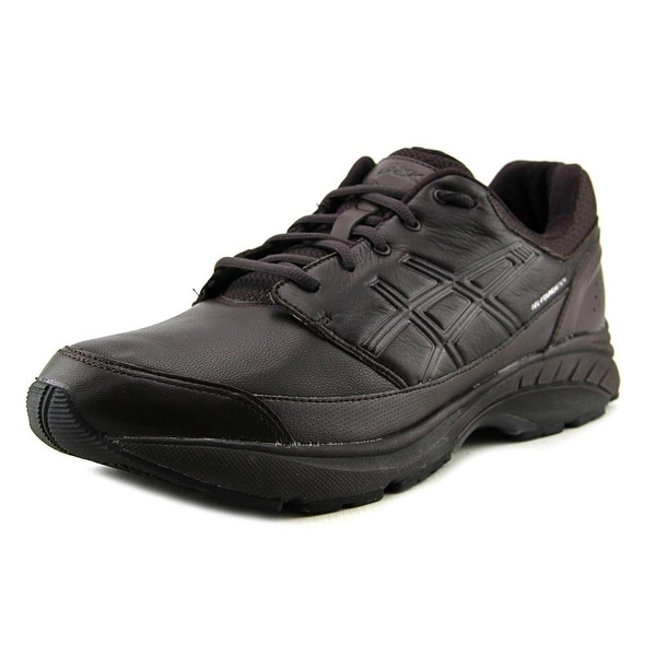 Asics GEL-Foundation Workplace Men 4E Round Toe Leather Brown Sneakers