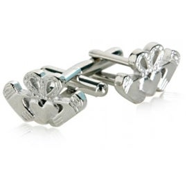 Claddagh Ireland Irish Love Friendship Loyalty  Cufflinks