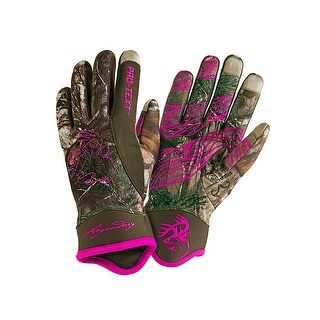 Legendary Whitetails Ladies Spider Web II Pro-Text Thinsulate Gloves - realtree xtra