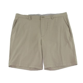 Link to Greg Norman Men's Shorts Beige Size 34 Performance Stretch Chinos Similar Items in Big & Tall
