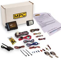 Complete Remote Start & Keyless Entry Kit For 2010-2013 Toyota Corolla with Key to Start includes (2) 4 Button Remotes
