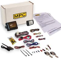 Complete Remote Start Kit W/Keyless Entry And Data Module For 2010-2012 Ford Crown Victoria - With (2) 4 Button Remotes