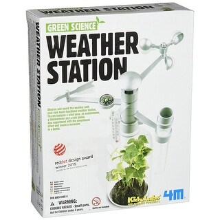 4M Green Science Weather Station Kit