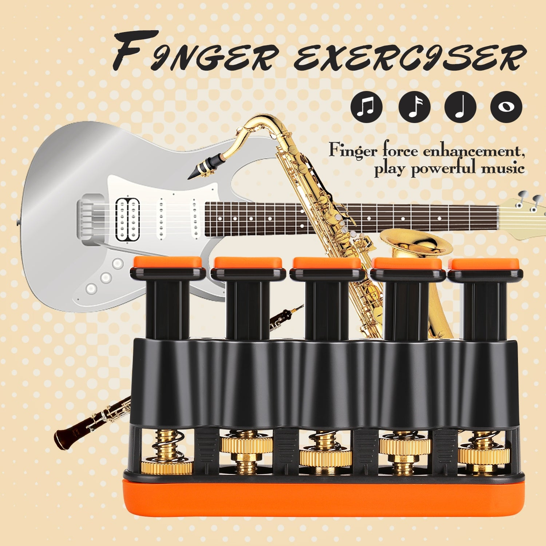 Guitar Exerciser Finger Strengthener Tension Adjustable Hand Grip practise *NEW*
