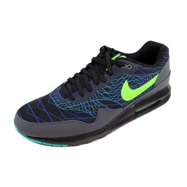 74e64a352bef Shop Nike Men s Air Max Lunar1 JCRD Winter Black Flash Lime-Hyper ...