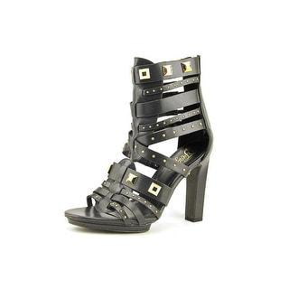 Fergie Bonnie Open-Toe Synthetic Ankle Boot