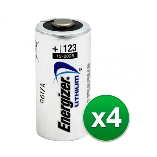 """""""Replacement Battery for Energizer CR123A (4-Pack) Replacement Battery"""""""