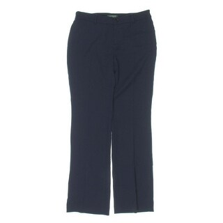 Lauren Ralph Lauren Womens Petites Dress Pants Wool Trousers