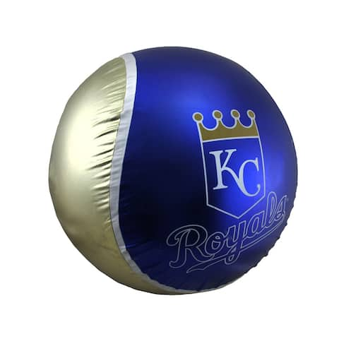 18 Inch Diameter Yall Ball Kansas City Royals Inflatable Bouncy Ball - 18 X 18 X 18 inches