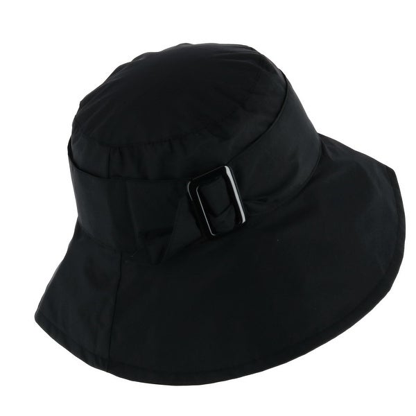3cd93fd05 Shop Jeanne Simmons Women's Bucket Hat with Large Belt Adjuster ...