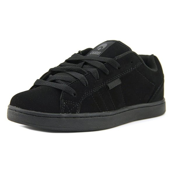 Osiris Loot Youth Round Toe Synthetic Black Skate Shoe