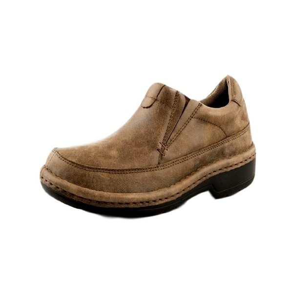 Roper Western Shoes Mens Leather Slip On Tan