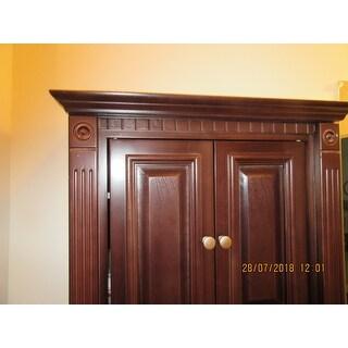 Attirant Cherry Bathroom Wall Cabinet