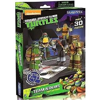 Teenage Mutant Ninja Turtles Papercraft Team Ninjas Turtles Pack