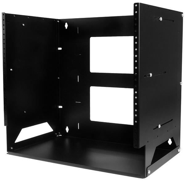 Startech - Wallshelf8u 8U Wall-Mountable Svr Racknwall Rack With Built-In Shelf