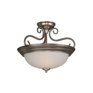 Craftmade X124 2 Light Semi-Flush Ceiling Fixture