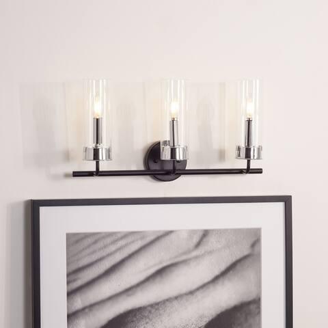 "SAFAVIEH Lighting Remery 3-light LED Vanity Sconce - 22"" W x 5.5"" L x 11.8"" H"