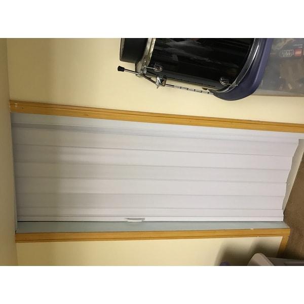 Spectrum Via White Folding Door - Free Shipping Today - Overstock ...