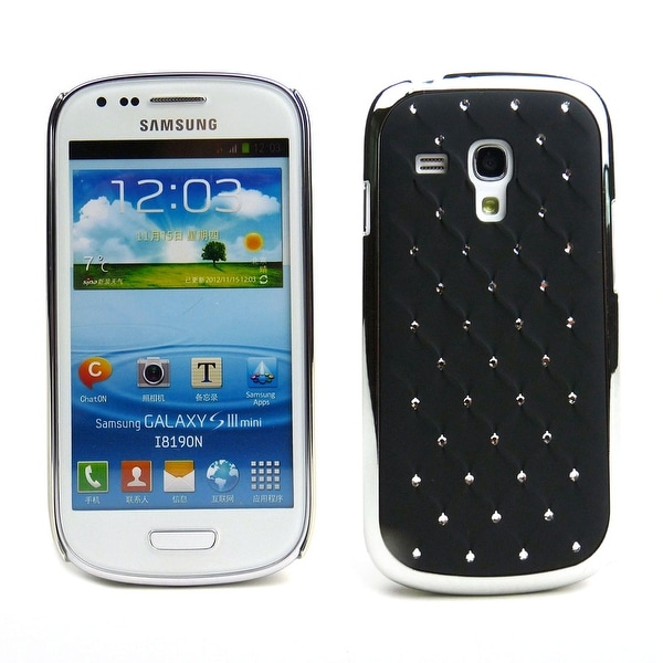 JAVOedge Crystal Back Cover for the Samsung Galaxy S3 Mini - Black