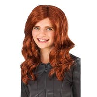 Rubies Civil War Black Widow Child Wig - Auburn