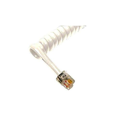 Cablesys icc-ichc406fwh gcha444006-fwh / 6' handset cord - white