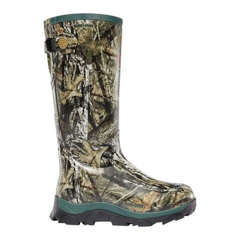 "LaCrosse Women's Switchgrass 15"" 1200G Insulated Hunting Boot Mossy Oak Break-Up Country Rubber"