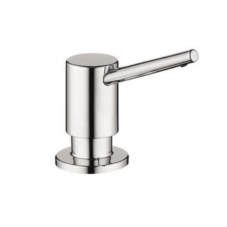 Hansgrohe 4539 Contemporary Soap Dispenser with 16 oz Bottle Capacity