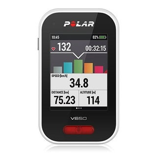 Polar 90050530 V650 GPS Cycling Computer with Running & Cycling Sensor Compatibility