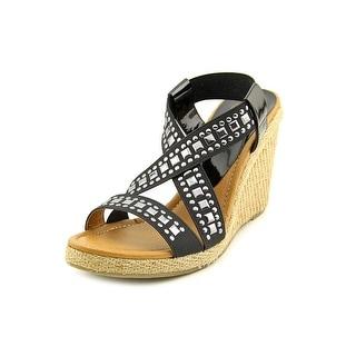 Kelsi Dagger Delana Open Toe Canvas Platform Sandal