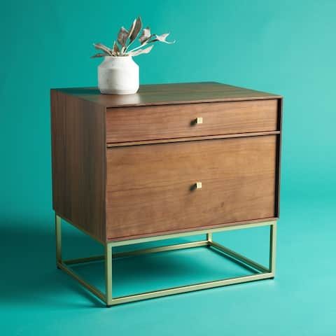 SAFAVIEH Couture Adelyn 2-Drawer Nightstand