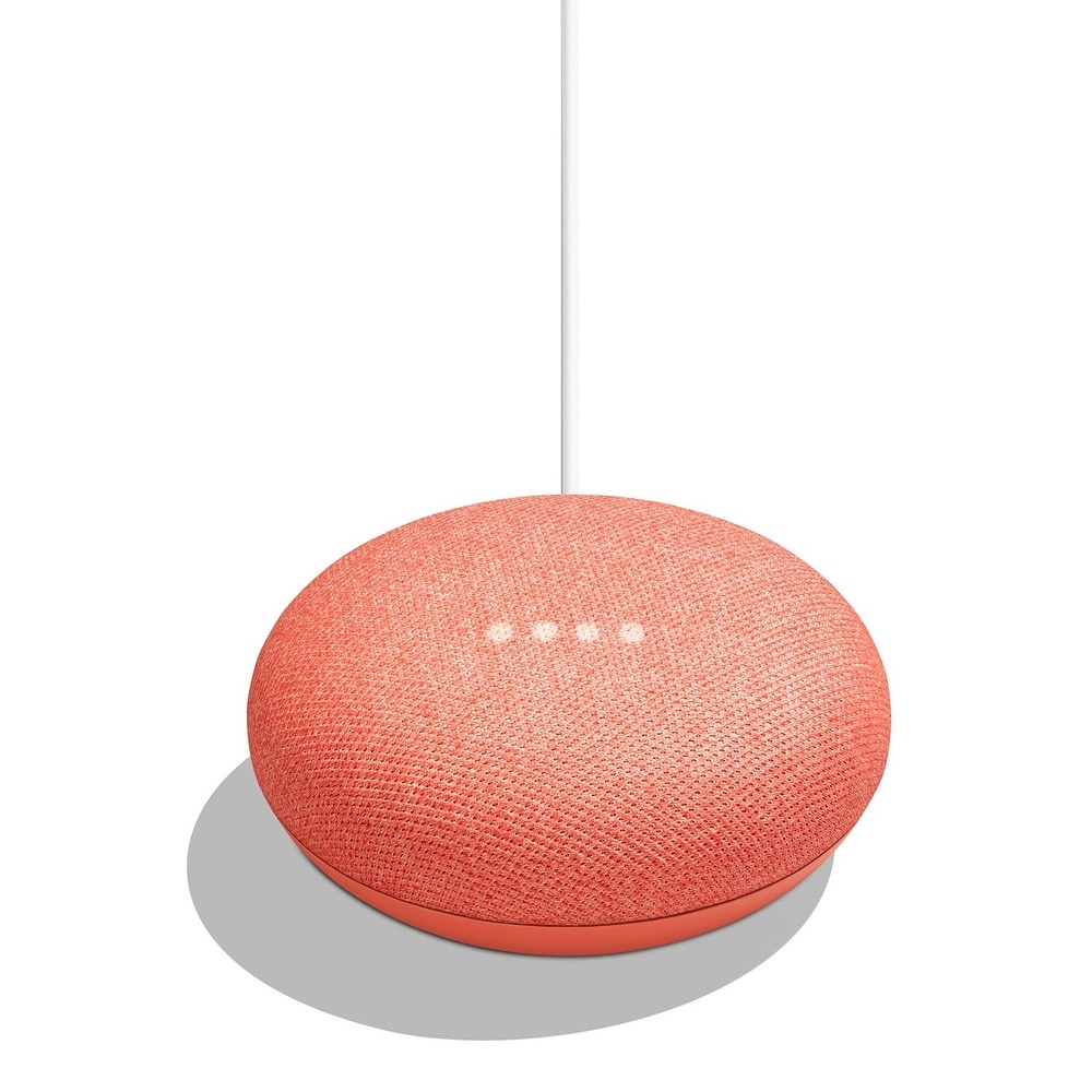 Google Home Mini - - Assorted Colors (CORAL)
