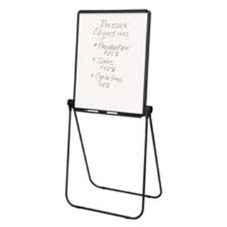 Ultima Easel- 2-Sided- 27in.x38in.- Adjusts From 39in.-70in.- Black