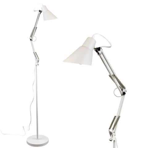 Architect Reading Floor Lamp by Light Accents Adjustable Arm