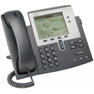 Cisco CP-7942G-RF Cisco 7942G Unified IP Phone - 2 x RJ-45 10/100Base-TX , 1 x - Wall-mountable