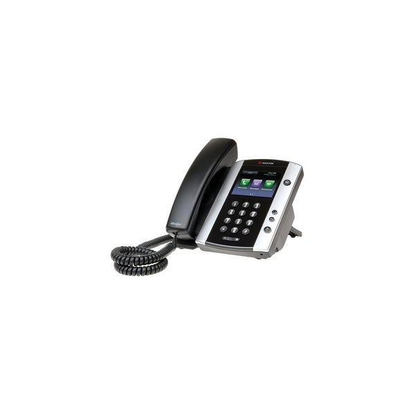 Refurbished Polycom 220044500025 VVX 500 12-line Business Media Phone POE w/ VoIP, Power Supply Excluded