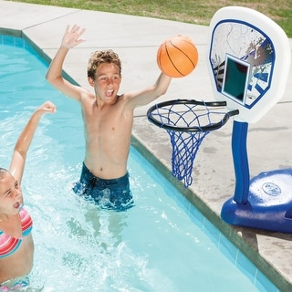 "40.5"" Heavy Duty Poolside Basketball Game Set with Ball"