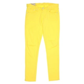 Polo Ralph Lauren Womens Tompkins Colored Skinny Cropped Jeans