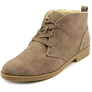 Indigo Rd. Auburn Women Round Toe Synthetic Brown Chukka Boot