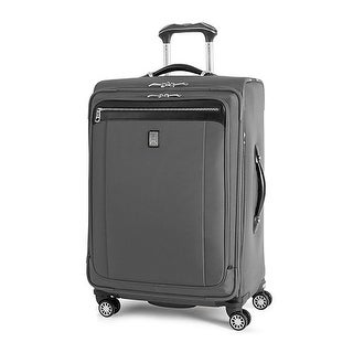 Platinum Magna 2 - 25 inch- Charcoal Gray 25 inch Expandable Spinner Suiter - Black